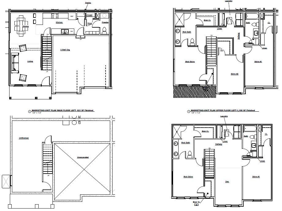 Townhome Floor Plans | CCS Homes